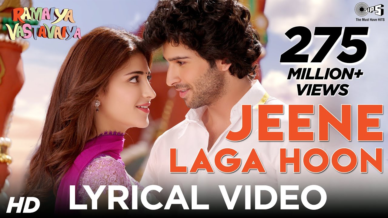 Jeene Laga Hoon Song Lyrics Image