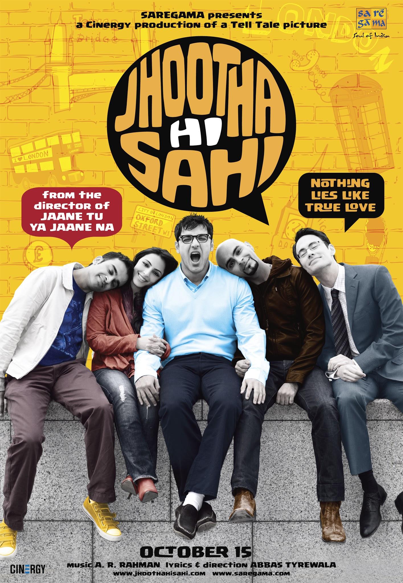 Jhootha Hi Sahi Poster
