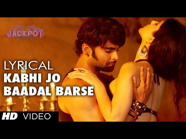 Kabhi Jo Baadal Barse Song Lyrics Image