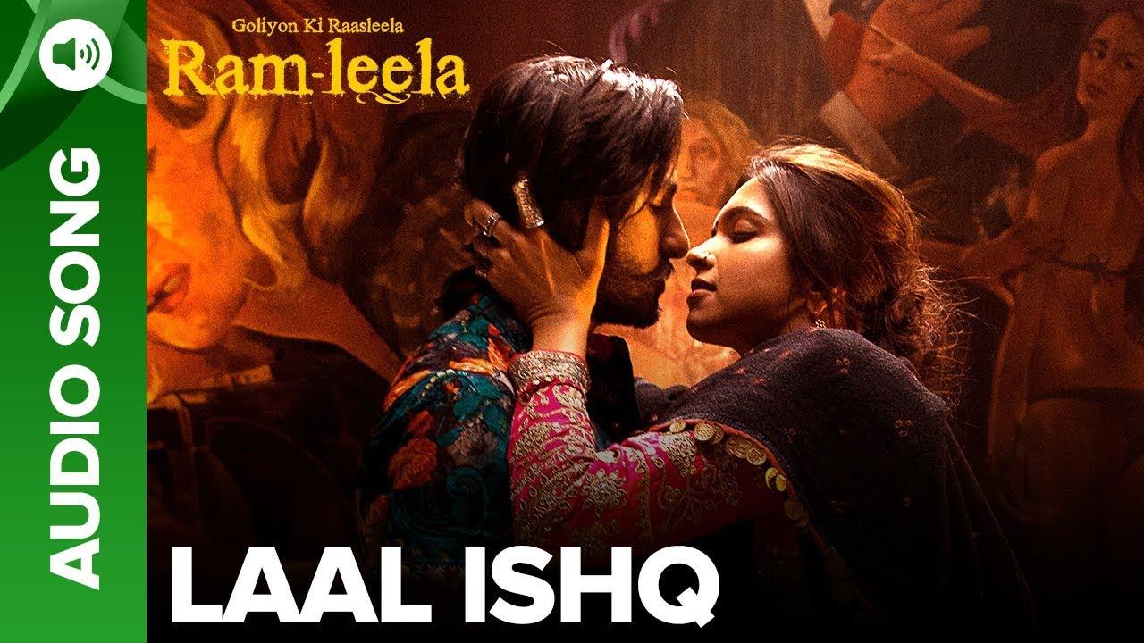 Laal Ishq Song Lyrics Image