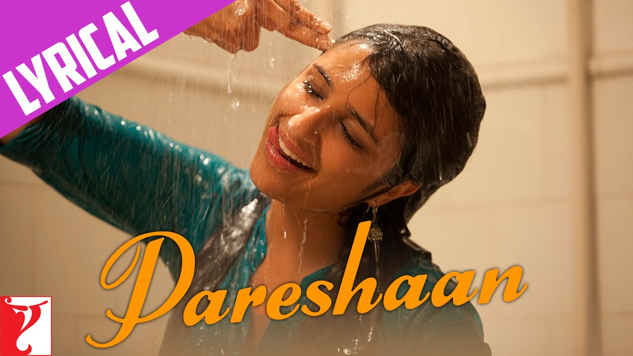 Pareshaan Song Lyrics Image