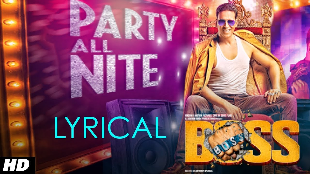 Party All Night Song Lyrics Image