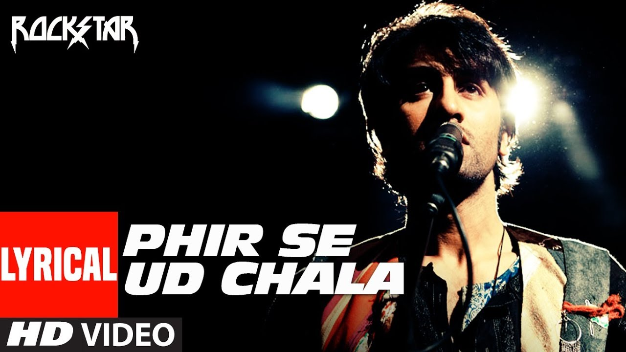 Phir Se Ud Chala Song Lyrics Image