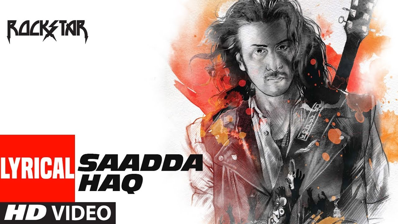 Sadda Haq Song Lyrics Image