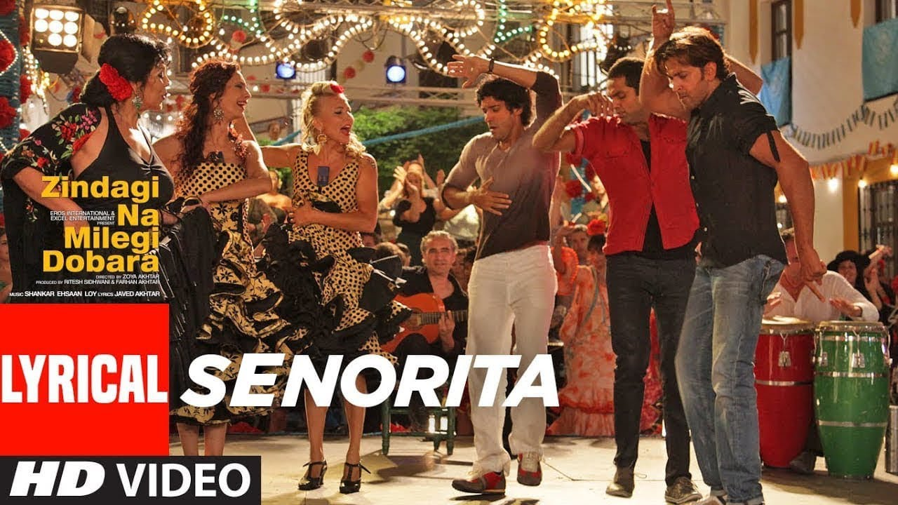 Senorita Song Lyrics Image
