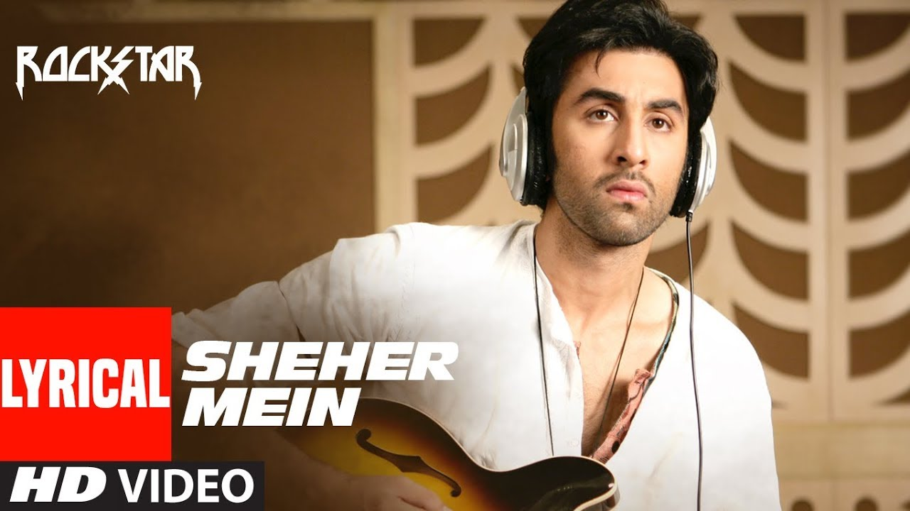 Sheher Mein Song Lyrics Image