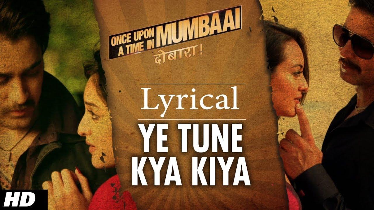 Ye Tune Kya Kiya Song Lyrics Image