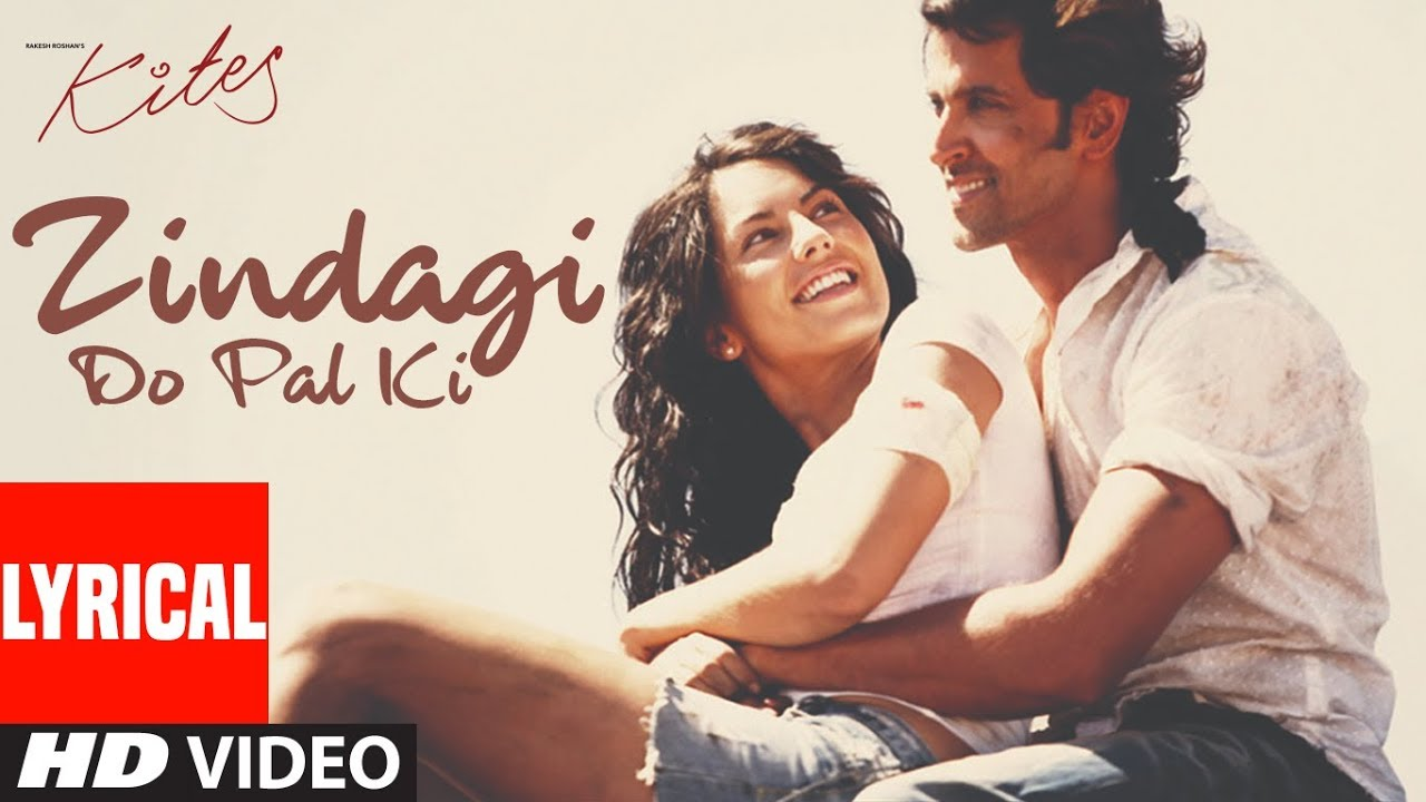 Zindagi Do Pal Ki Song Lyrics Image