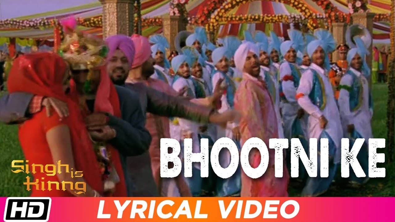 Bhootni Ke Song Lyrics Image