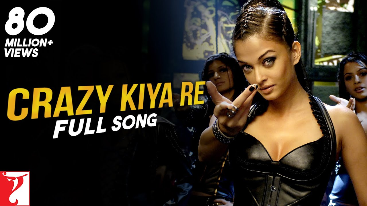 Crazy Kiya Re Song Lyrics Image