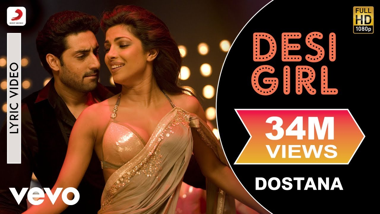 Desi Girl Song Lyrics Image