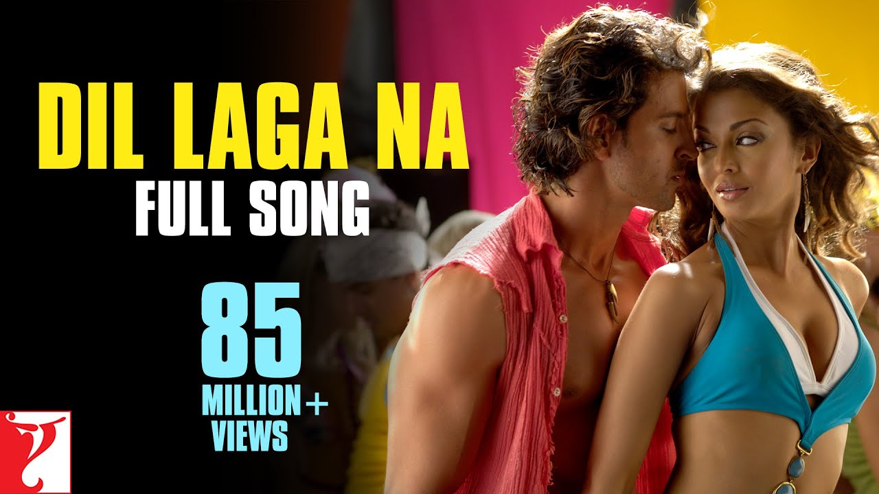 Dil Laga Na Song Lyrics Image