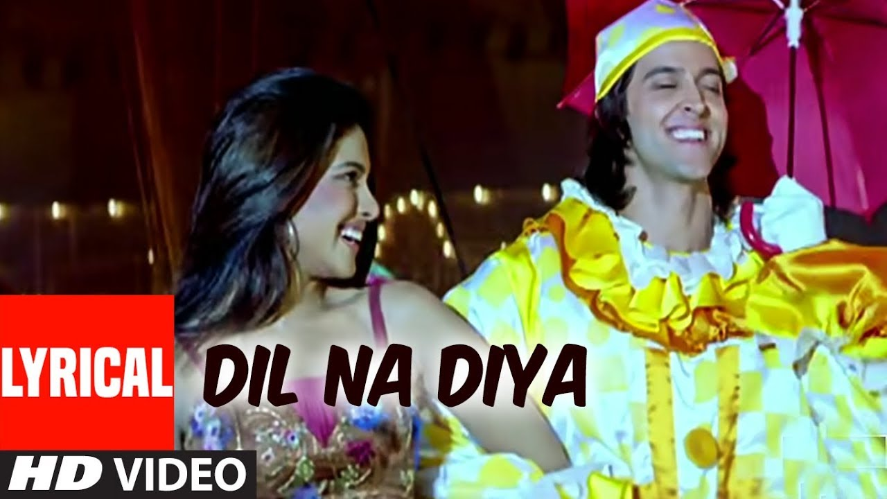 Dil Na Diya Song Lyrics Image