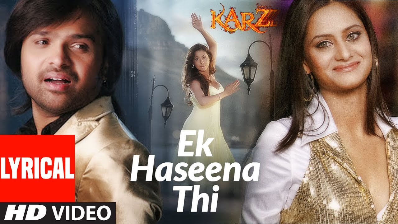 Ek Haseena Thi Song Lyrics Image