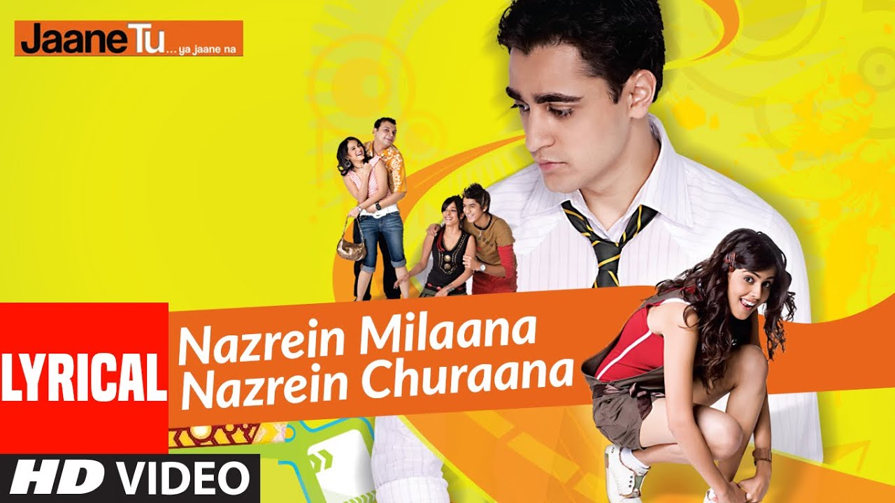 Nazrein Milaana Nazrein Churaana Song Lyrics Image