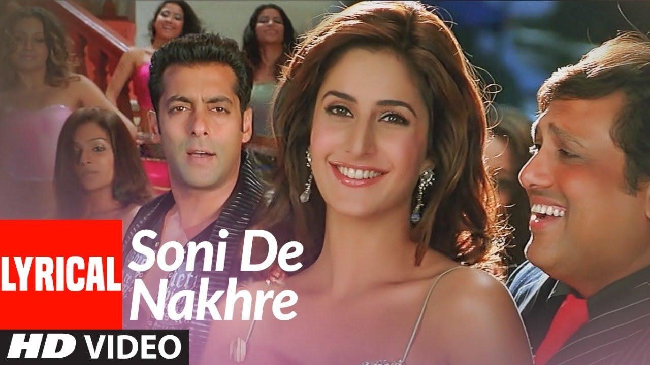 Soni De Nakhre Song Lyrics Image