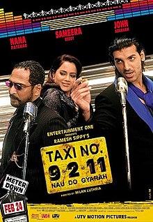 Taxi No 9 2 11 Nau Do Gyarah Poster
