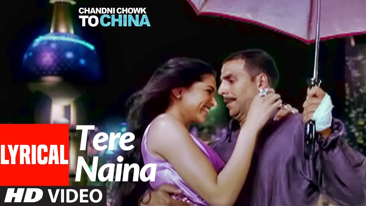 Tere Naina Song Lyrics Image
