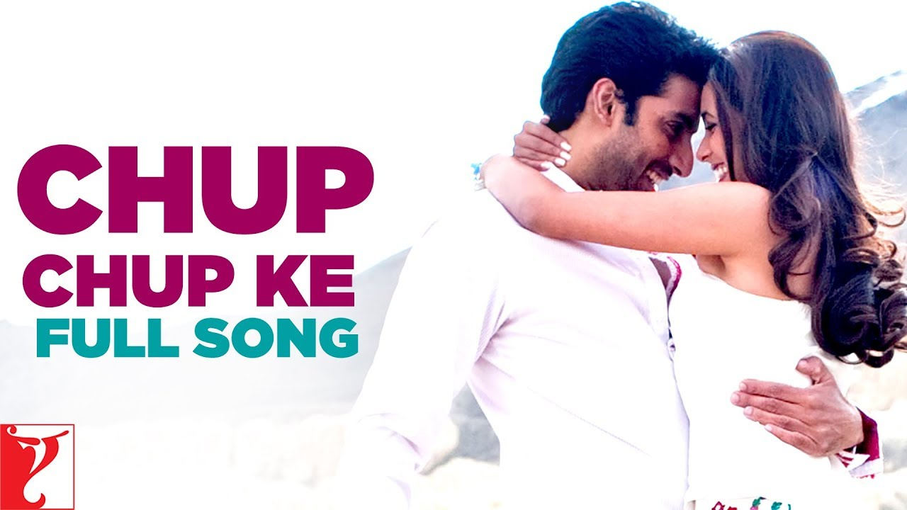 Chup Chup Ke Song Lyrics Image