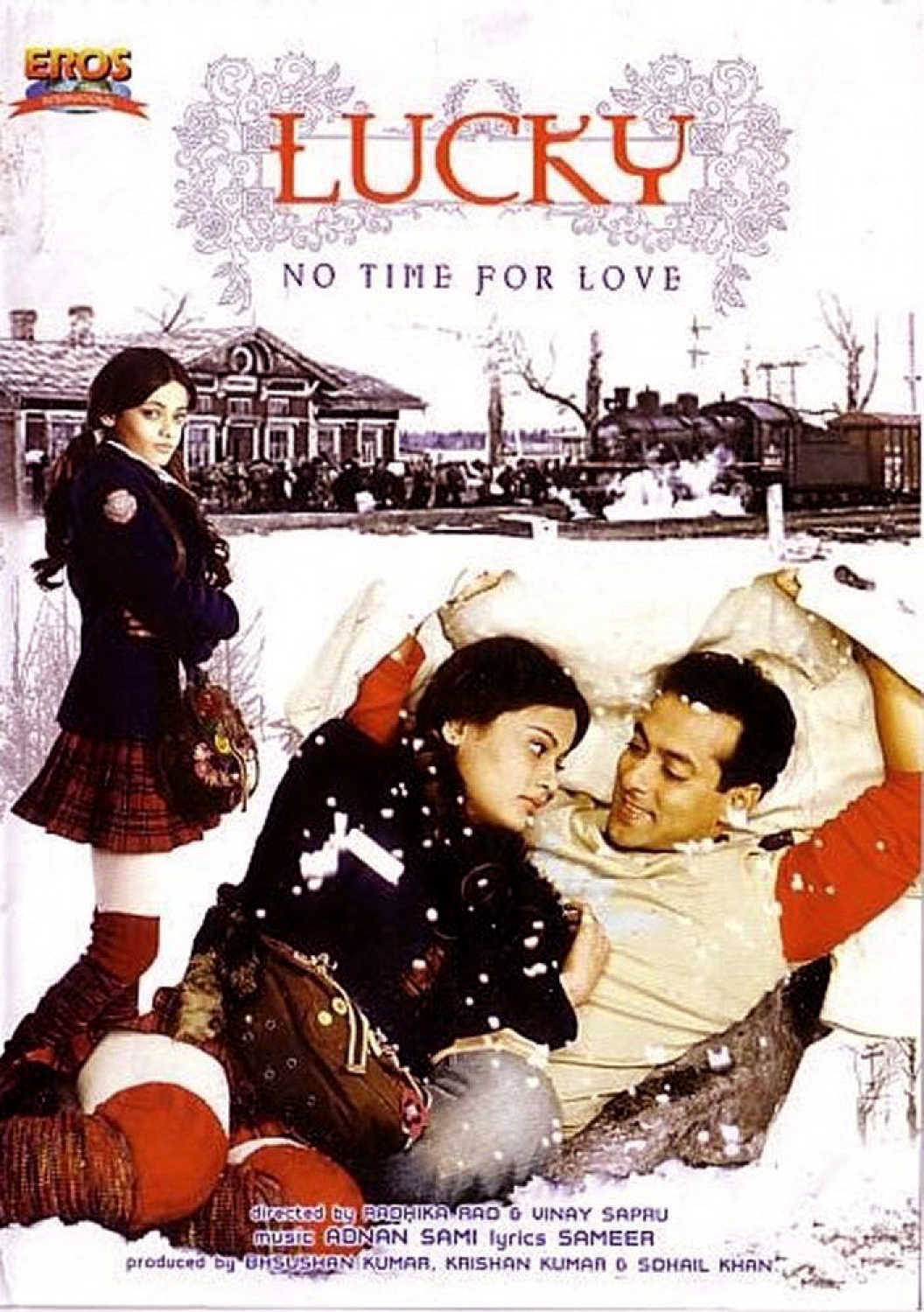Lucky No Time for Love Poster