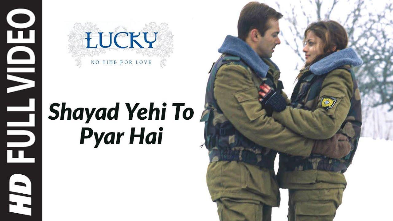 Shayad Yehi To Pyar Hai Song Lyrics Image