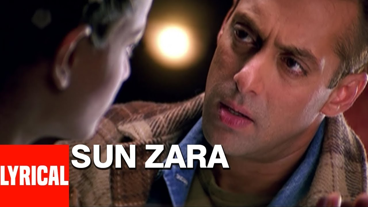 Sun Zara Song Lyrics Image