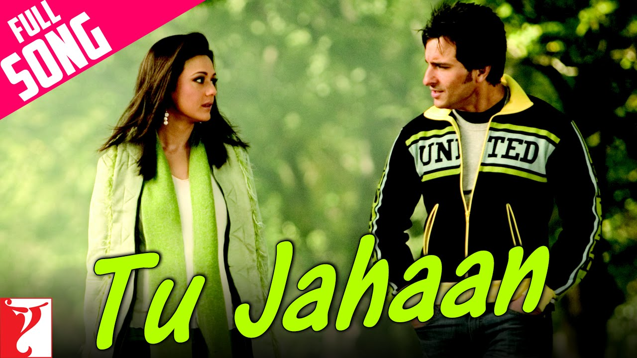 Tu Jahaan Song Lyrics Image