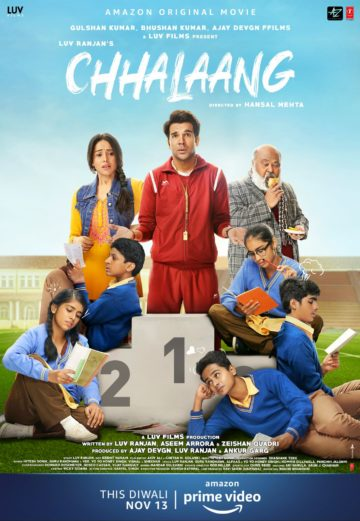 Chhalaang Movie Poster