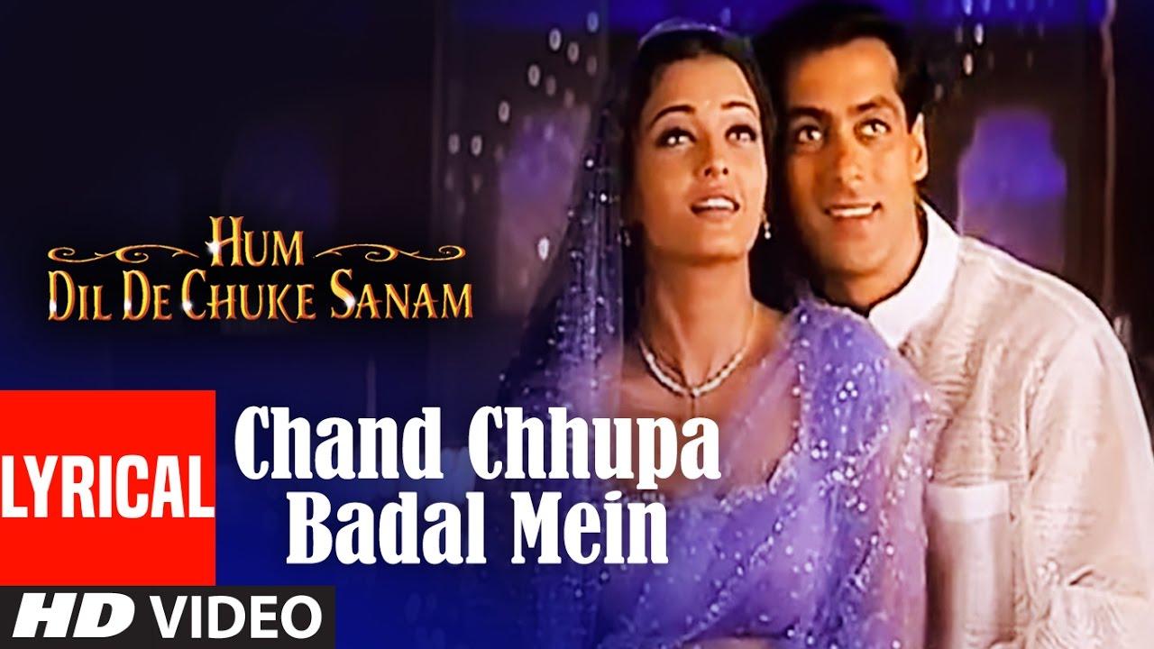 Chand Chhupa Badal Mein Song Lyrics