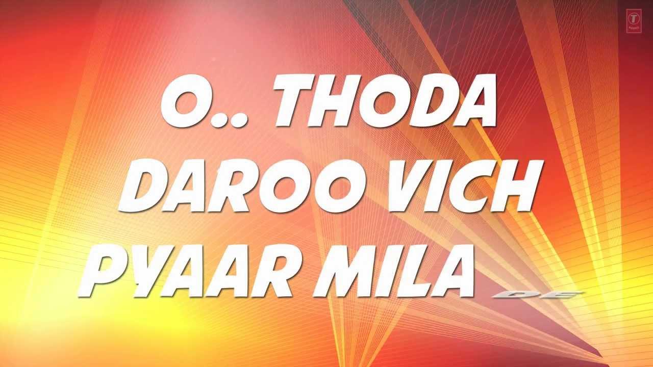 Daaroo Vich Pyar Song Lyrics