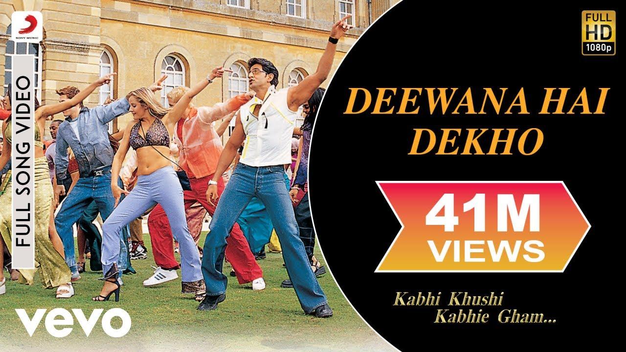 Deewana Hai Dekho Song Lyrics