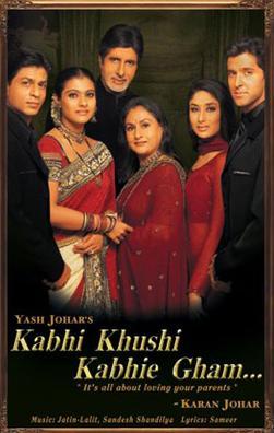 Kabhi Khushi Kabhie Gham Movie Poster