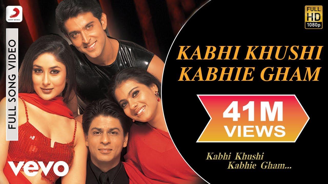 Kabhi Khushi Kabhie Gham Title Track Song Lyrics