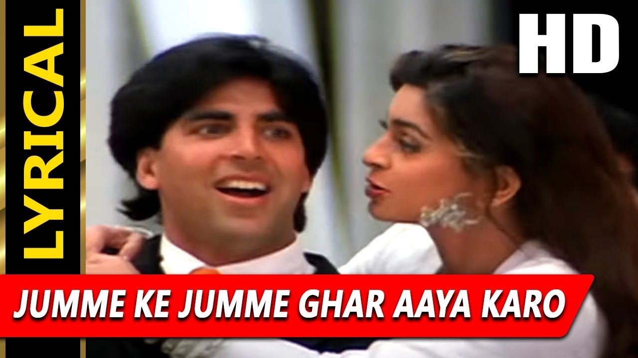 Jumme Ke Jumme Ghar Song Lyrics
