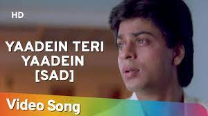 Yaadein Teri Yaadein Sad Song Lyrics
