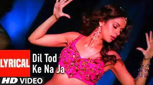 Dil Tod Ke Na Ja Song Lyrics