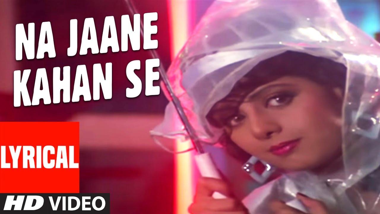 Na Jaane Kahan Se Aayi Hai Song Lyrics