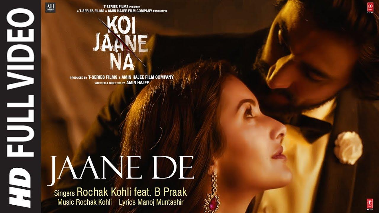 Jaane De Song Lyrics