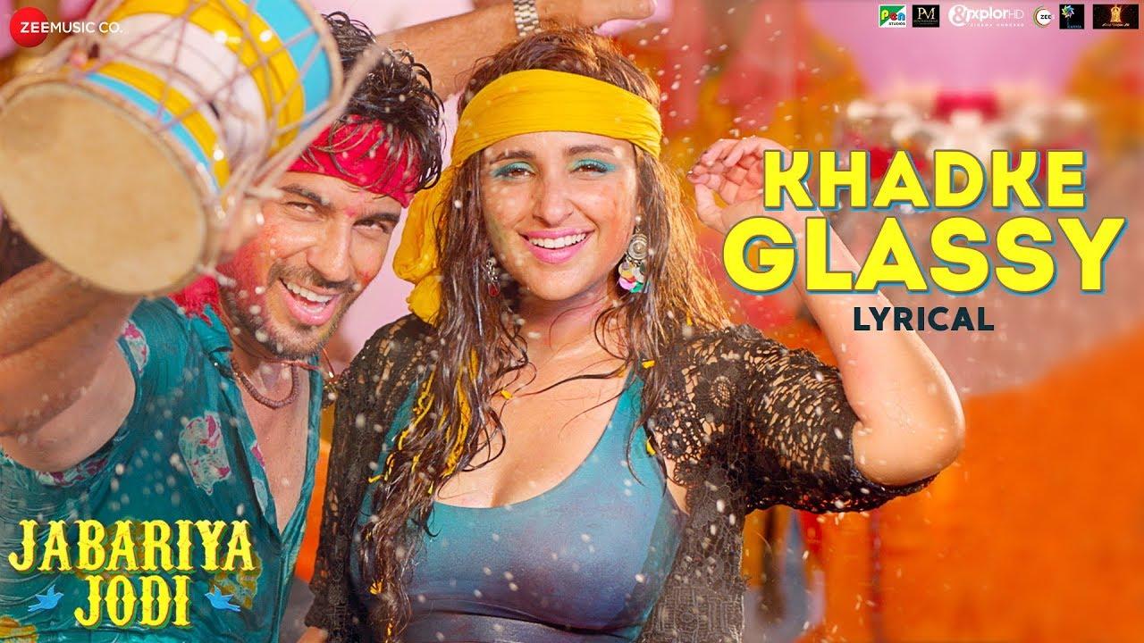 Khadke Glassy Song Lyrics