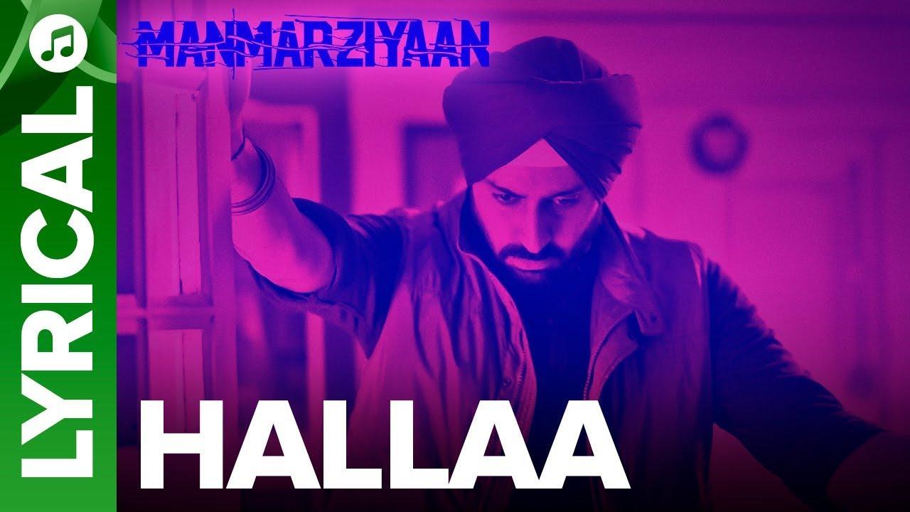 Hallaa Song Lyrics