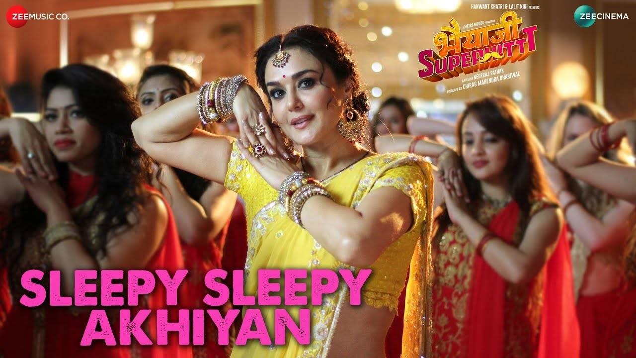 Sleepy Sleepy Akhiyan Song Lyrics