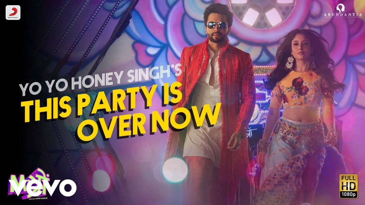 This Party Is Over Now Song Lyrics