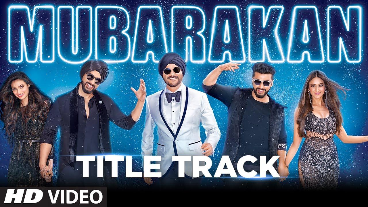 Mubarakan Title Track Song Lyrics